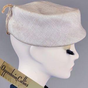 Vintage 1940s Pill Box Hat